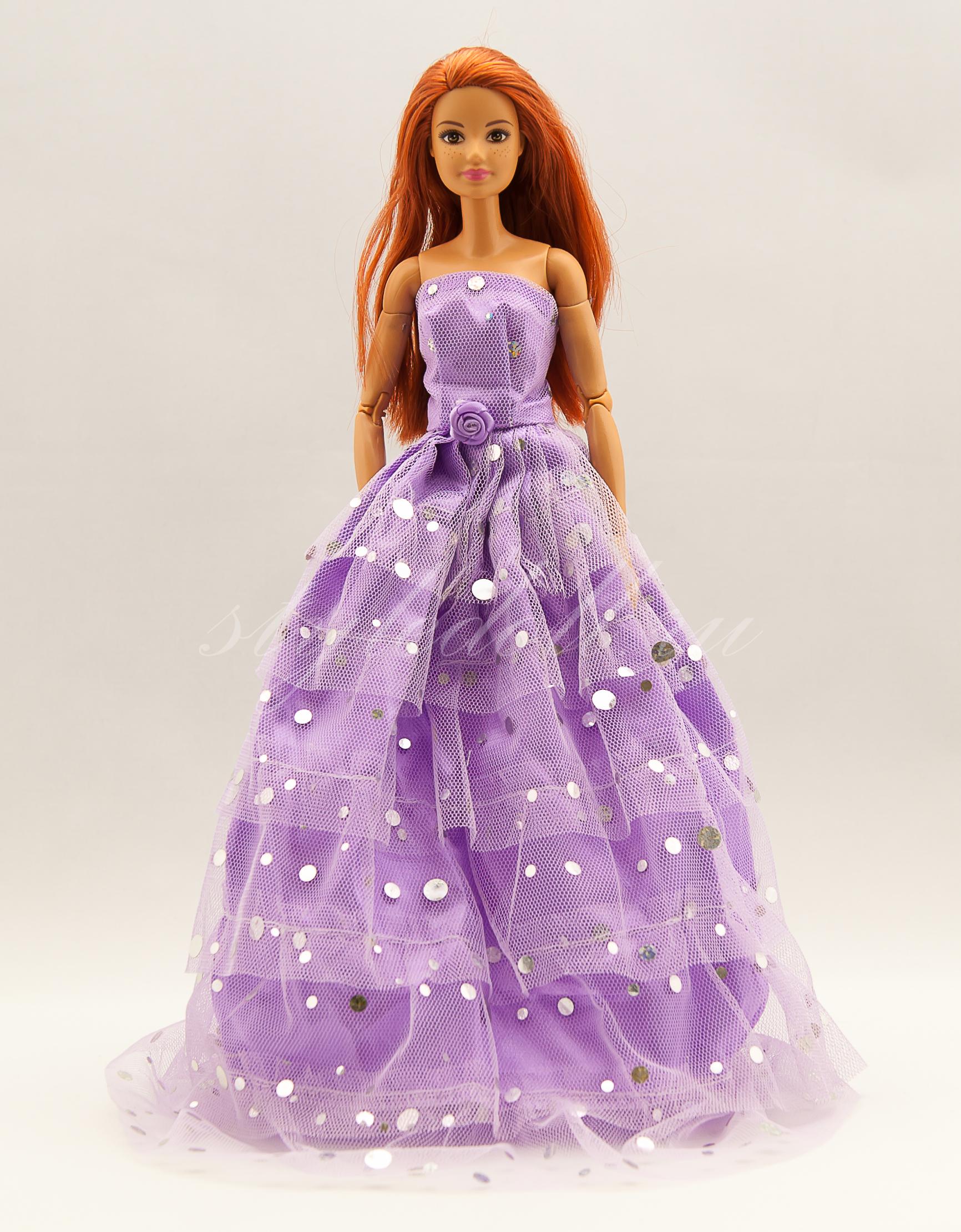 933a4651360 Бальное платье для Барби