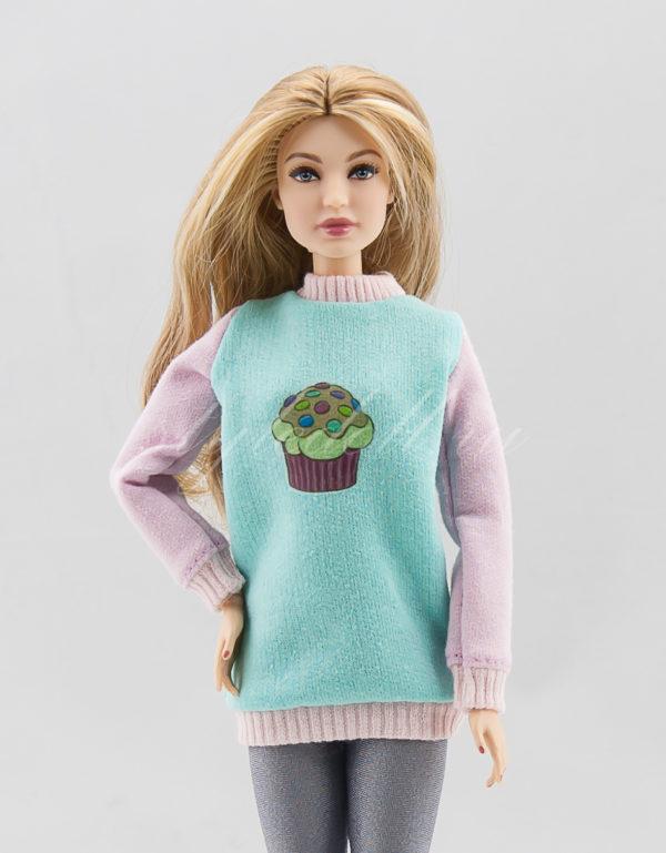 свитшот для Барби
