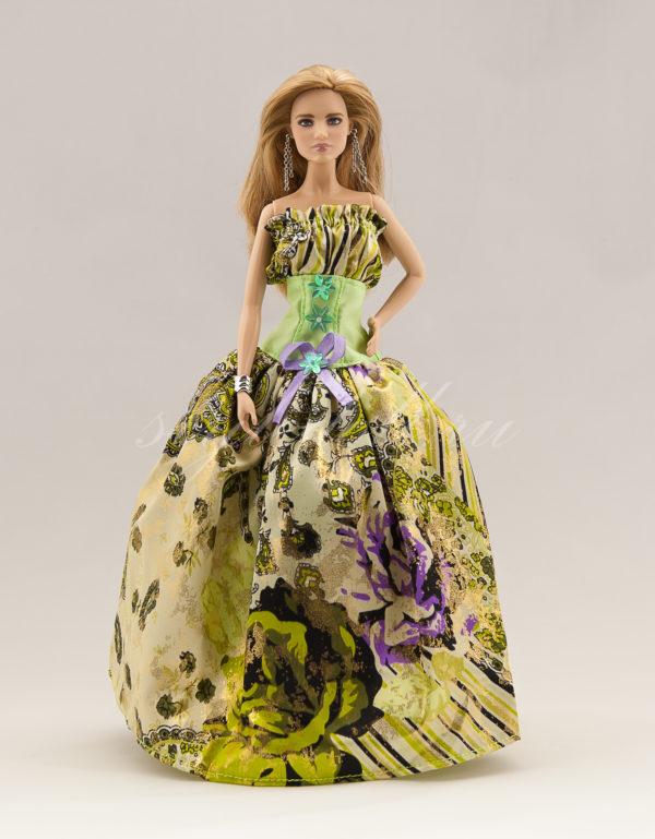Бальное платье Барби