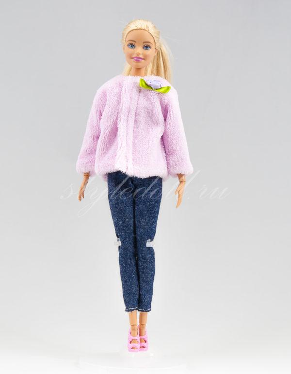 Шубка для Барби