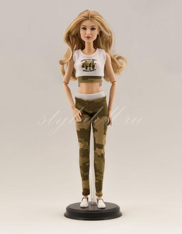 костюм милитари для Барби