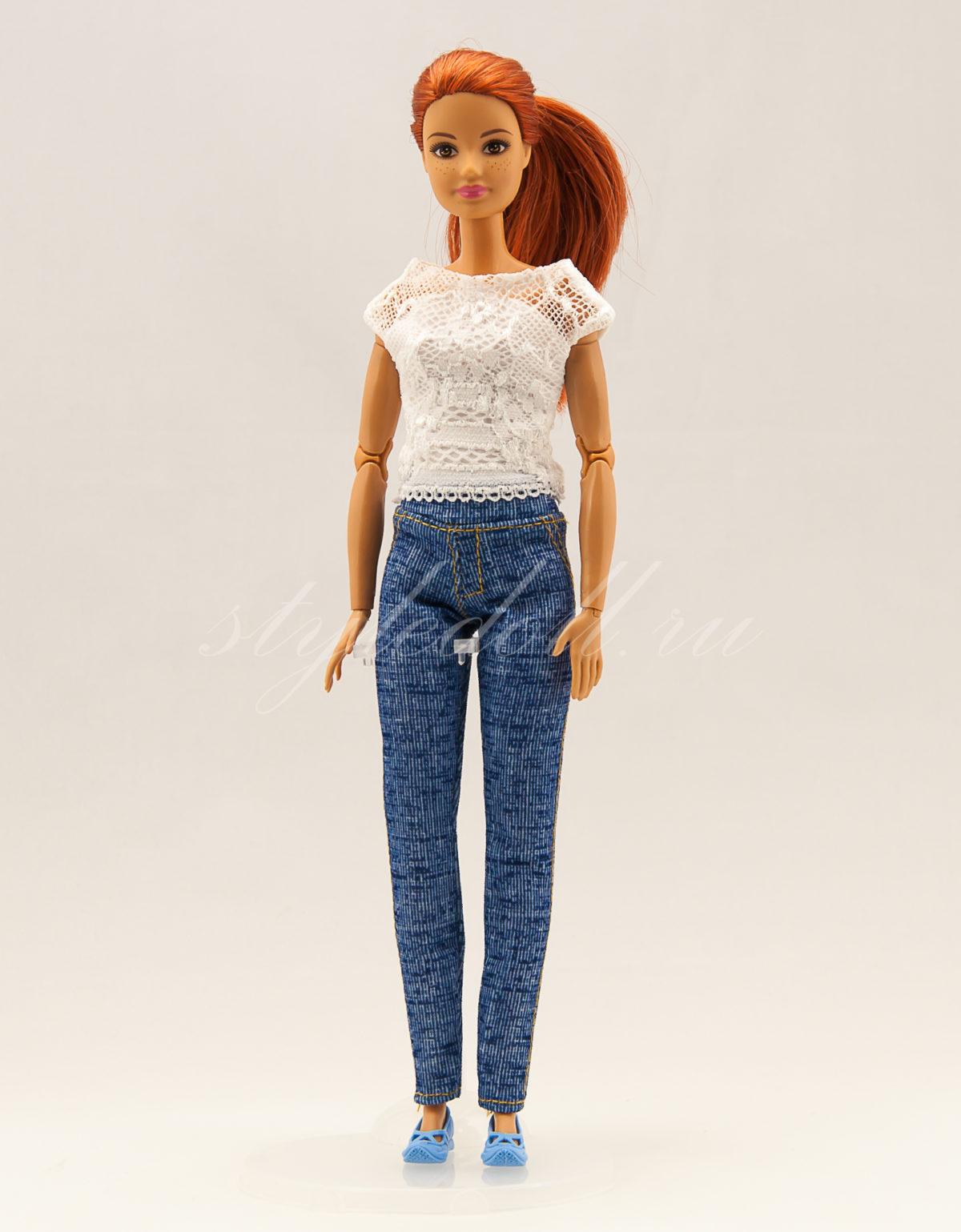Джеггинсы для Барби