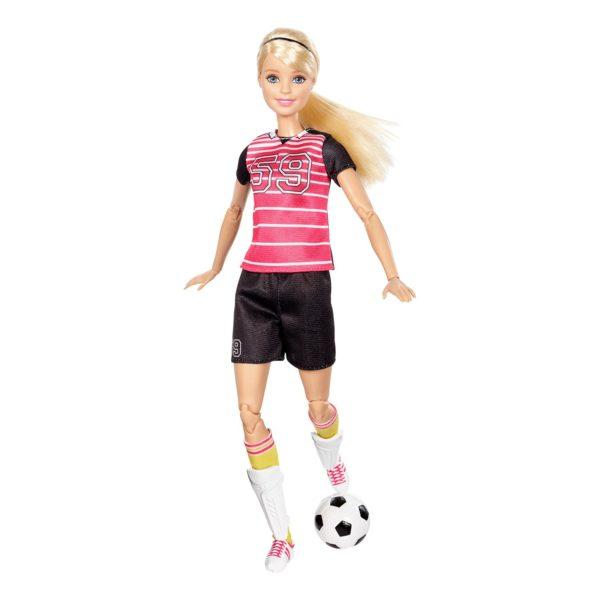 Барби-футболистка