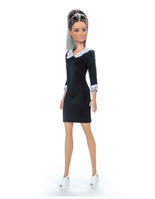 школьное платье для Барби