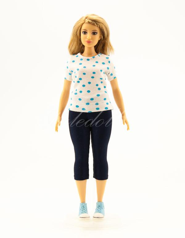 леггинсы для куклы Барби-пышки