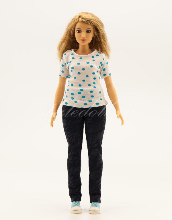 брюки для Барби-пышки