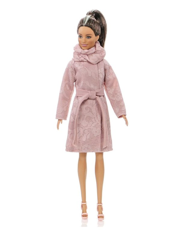 coat for Barbie doll