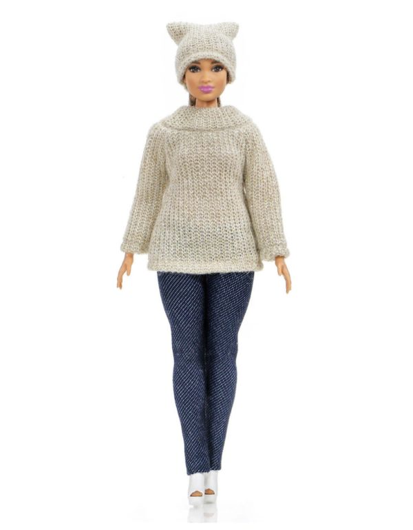 fashion outfit for Barbie Curvy