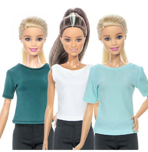 футболки для куклы