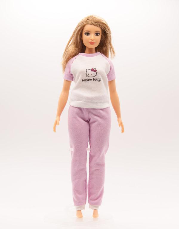 пижама для Барби толстушки