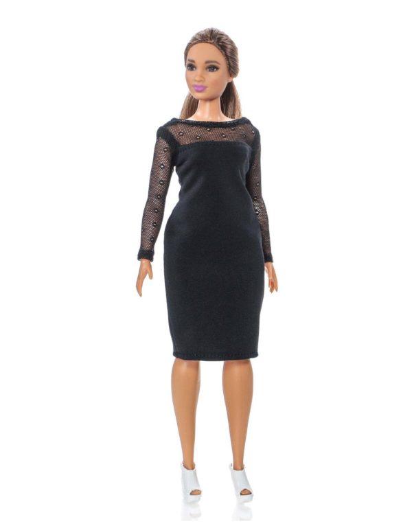 платье для барби толстушки