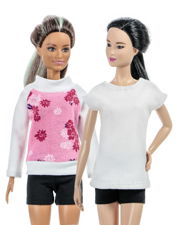 футболка для куклы