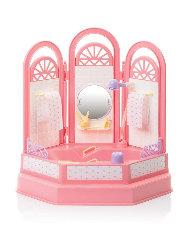 ванная комната для куклы