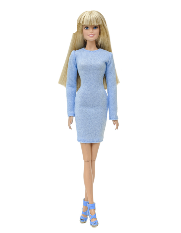 платье для кукол Барби
