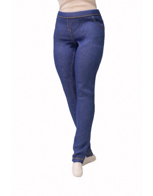 джинсы для куклы Барби-пышка