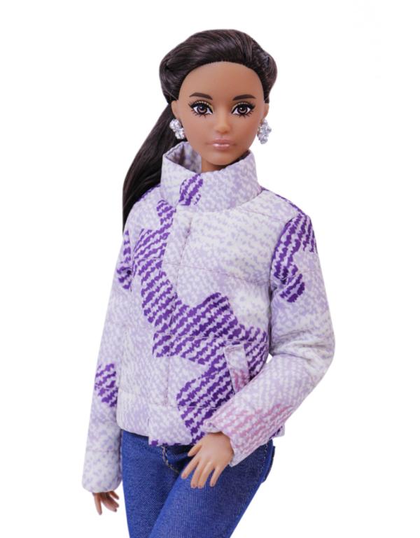 куртка-пуховик кукольная