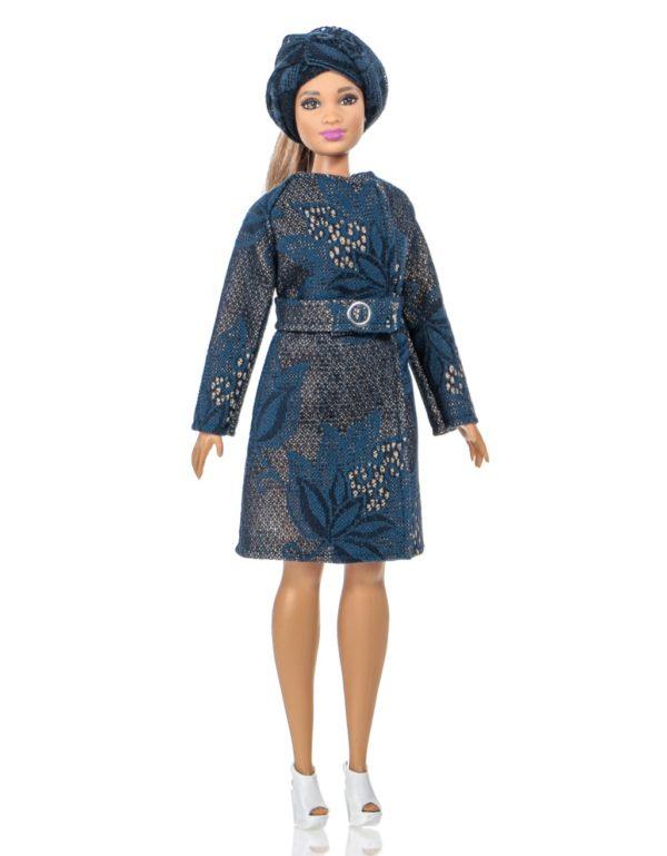 пальто для куклы Curvy
