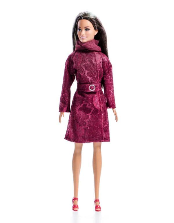 пальто для куклы Barbie