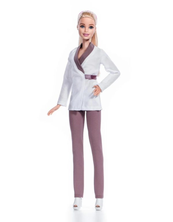 костюм медсестры для куклы